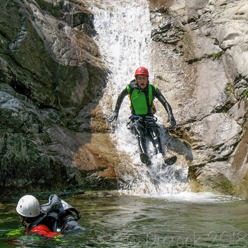 Canyoning and rafting in Versilia and Tuscany