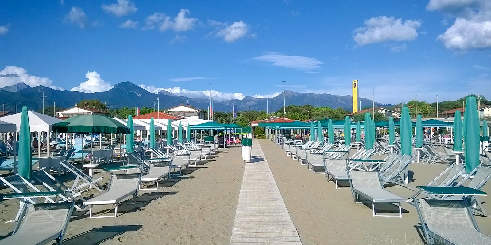 Mid-August Holiday in Versilia