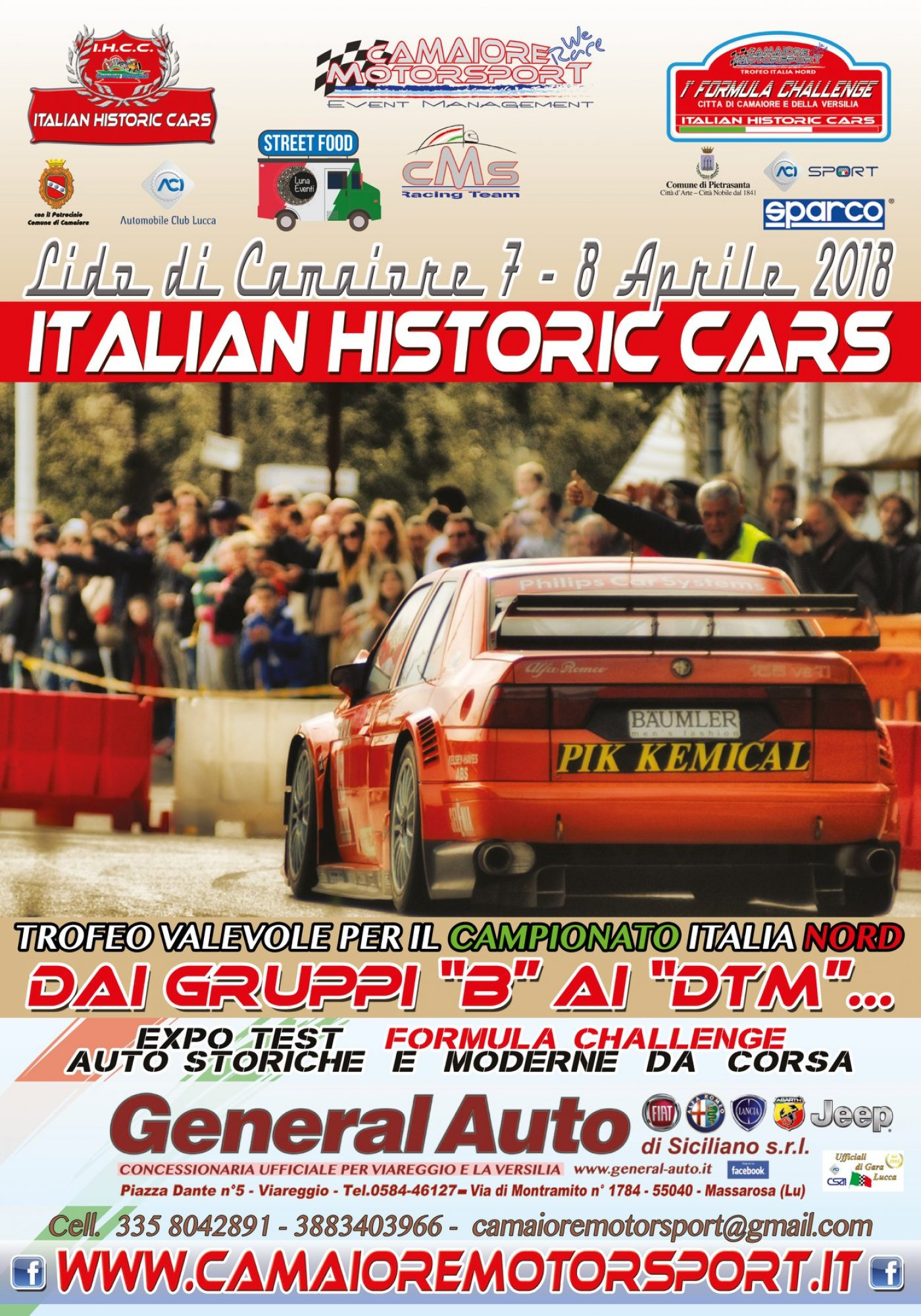 Street Food - Italian Historic Cars